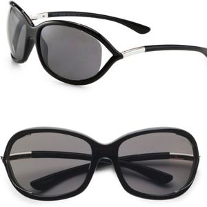 New TOM FORD Black Cut Out Sunglasses